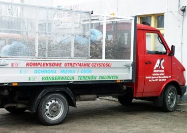 abc service oklejenie busa firmowego STM REKLAMA falmirowice opole